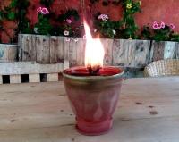 Kerzenreste Schmelzlicht Outdoor