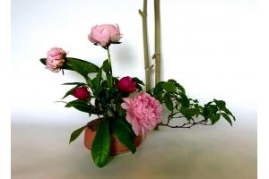 Ikebana Vase  Magnolie 2  Ø 15 cm