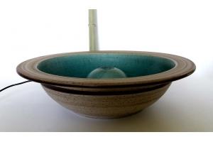 Brunnen / Türkis Ø 45 cm H12 cm