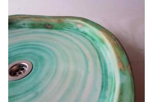 Waschplatte /  Ø 47x43 cm Höhe 5,5 cm