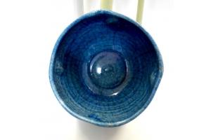 Rakuschale türkis Ø 17 cm