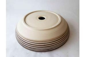 Waschbecken / Elfenbein Ø 40 cm Höhe 9 cm - Keramikatelier ...