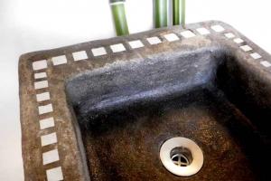 Waschbecken fondue la farge, Maße:39x36x13cm