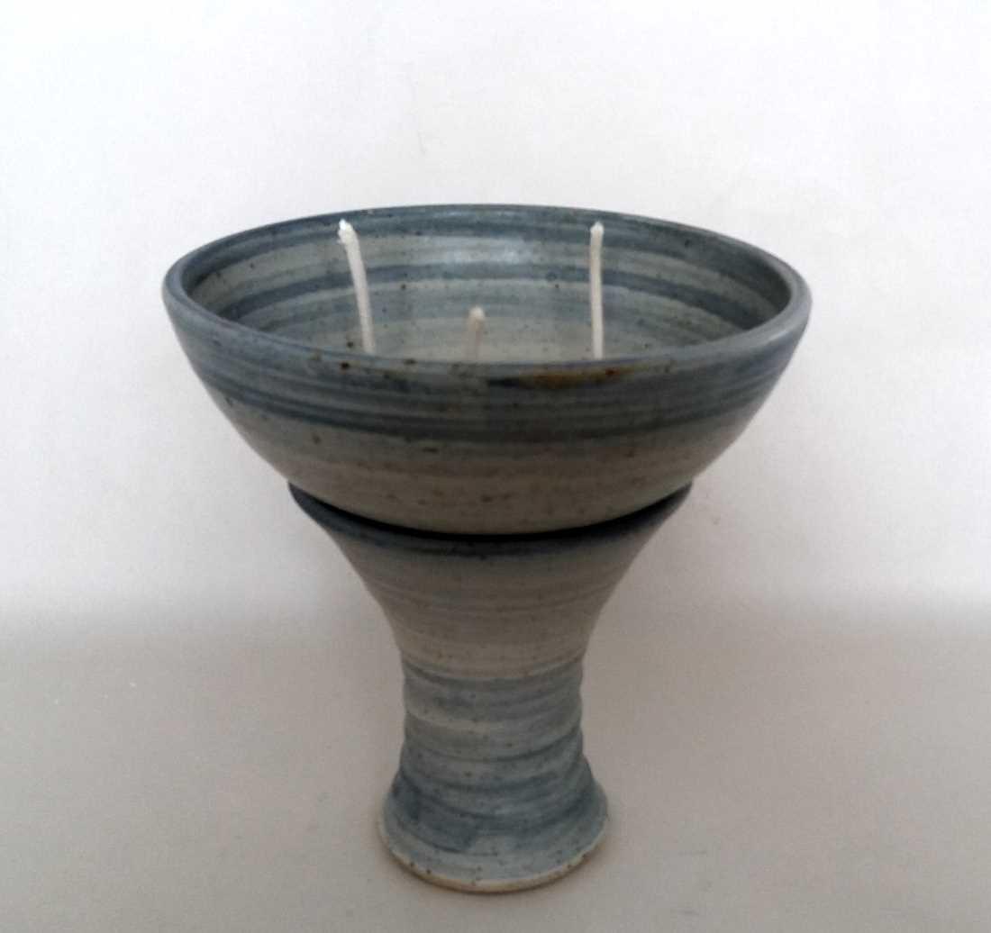 kerzenreste brenner schmelzlicht citrus keramikatelier sch ning. Black Bedroom Furniture Sets. Home Design Ideas