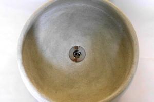 Waschbecken/Grigio Ø 40 cm Höhe 10 cm