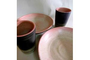 Teller-Becher Set Magnolie