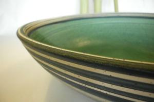Salat Schale oliv grün Ø 40 cm