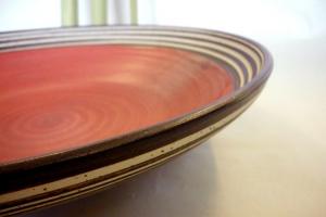 Salat Schale rot-matt Ø 41 cm