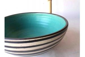 Salat Schale Türkis Ø 33 cm