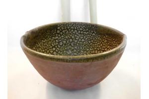 Salat Schale / Schlangenhaut Ø 20 cm