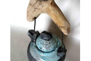 Teekanne / Raku / Seladon / 1000ml
