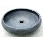 Waschbecken/Tondo grigio  Ø 40 cm H 10cm