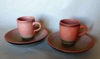 Teller-Tassen Set / Magnolie