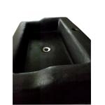 Waschbecken / Black   80 x 50 x 18 cm