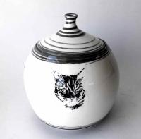 Tier Urne / Katzen Porträt