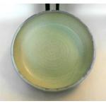 Salat Schale / smaragd-grün Ø 38 cm Höhe 7 cm
