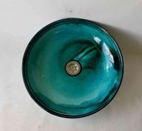 Waschbecken / ägyptisch/grün  Ø 38 cm Höhe 9 cm