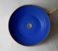 Waschschale/ Blau Ø 45 cm Höhe 11 cm