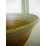 Salat Schale / rötlich-weiß Ø 25 cm