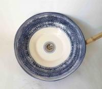 Waschbecken /  Deco-Blue  Ø 42 cm Höhe 10 cm