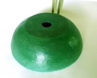 Waschbecken / Grasgrün Ø 38 cm Höhe 12,5 cm
