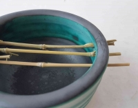 Seifenschale Bambus/Karibik