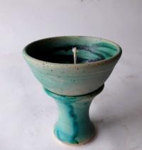 Kerzenreste Schmelzlicht / Karibik2