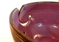 Garnschale Lavendel