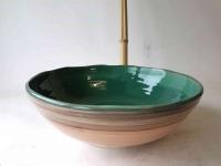 Waschbecken Salvia Ø 35 cm Höhe 11,5 cm