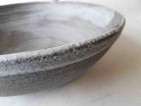 Salat Schale / Steinmatt-grau Ø 28 cm H9