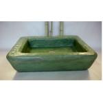 Waschbecken / Smaragd2 58x40x13 cm