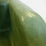 Waschbecken / Smaragd Grün  58 x 40 x 17 cm