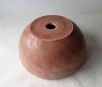 Waschbecken / Terracotta Ø 37 cm Höhe 16 cm