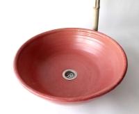 Waschbecken / Alt Rosa Ø 40 cm Höhe 13 cm