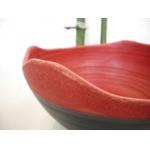 Salat Schale rot-matt Ø 23 cm
